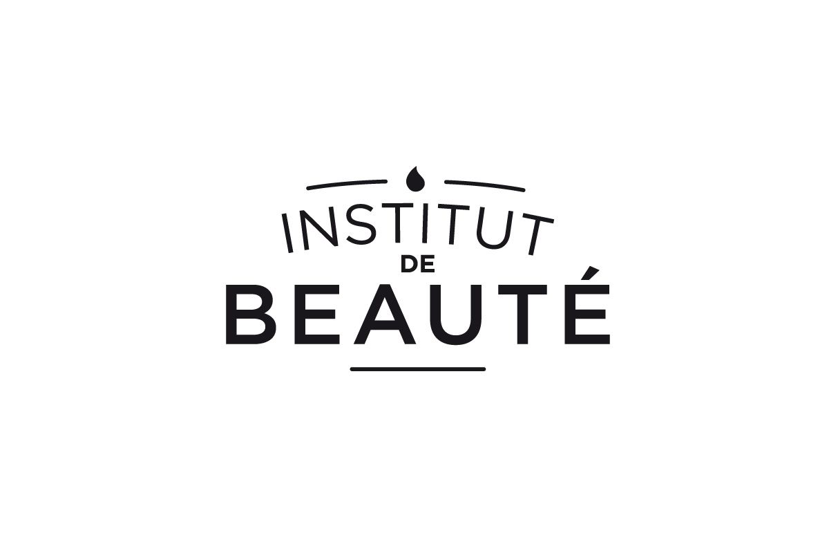 creation logo institut de beaute. Black Bedroom Furniture Sets. Home Design Ideas